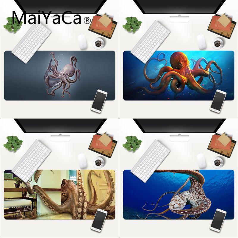 Дизайн Осьминог Мышь мат высокого качества по номерам DIY картина с двух сторон игровой Мышь коврик размеры xl xxl 600x300 мм для dota2 КС го