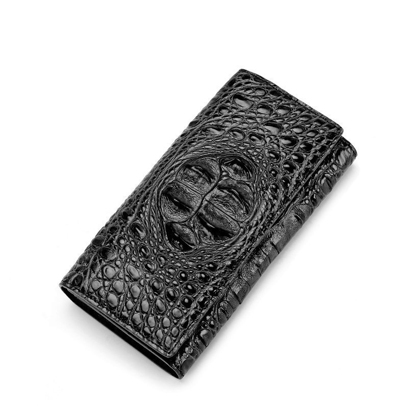 Siam crocodile leather purse women's hand bag fashion trend leather wallet card bag long femme monederos para mujer New Hot