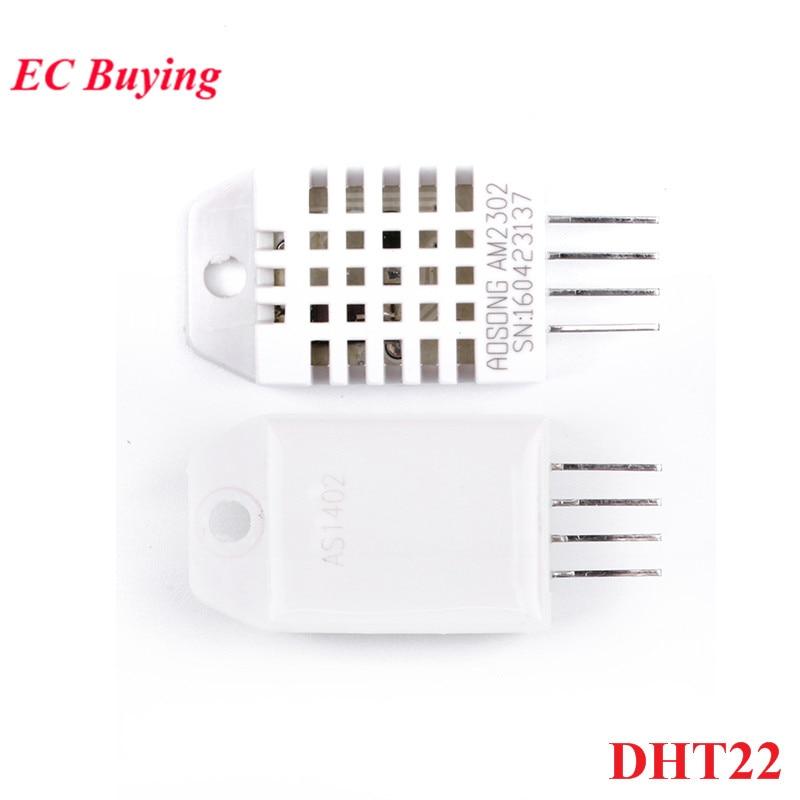 5 piezas DHT22 AM2302 reemplazar SHT11 SHT15 Digital de temperatura y Sensor de humedad para DHT-22