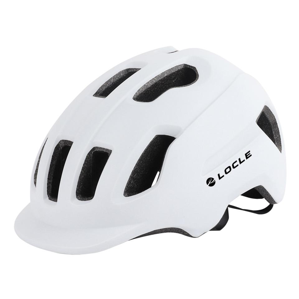 LOCLE-Casco de Ciclismo ultraligero, moldeado integralmente, de 57-62cm