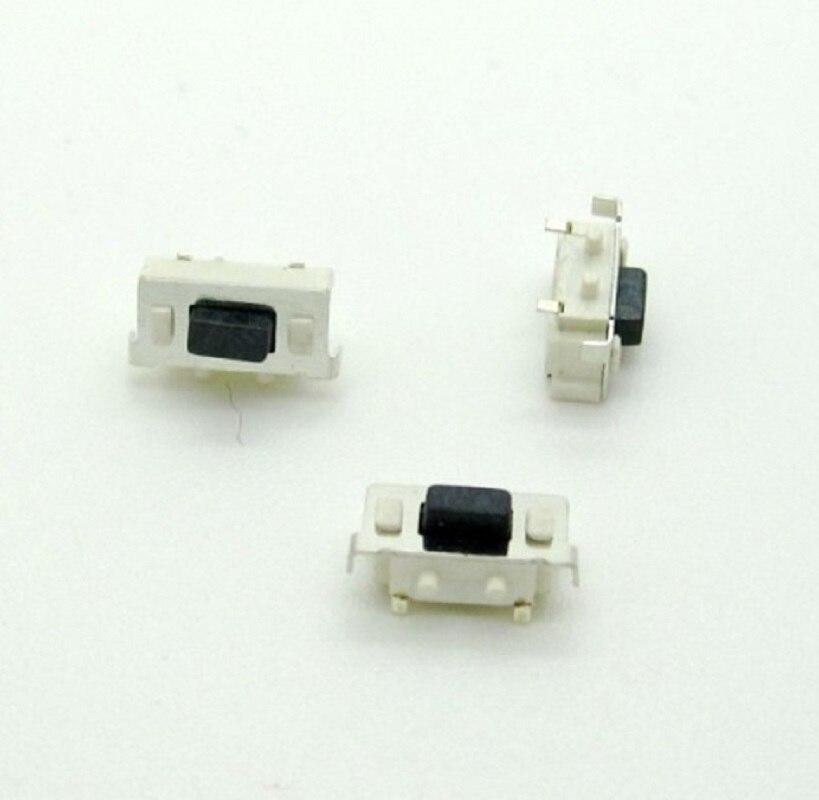 100 шт. микро, тактовый сенсорный переключатель 3*6*3,5 3x6x3,5 SMD для MP3 MP4 Tablet PC кнопка Bluetooth гарнитура пульт дистанционного управления