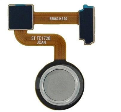 Sensor de impressão digital scanner cabo flexível com toque id botão casa voltar teclado para lg v30 + v30 vs996 h930 h932