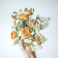 1 bunch mixed rose daisy preserved dried mini flowers bouquet photography home desktop office decoration pampas grass
