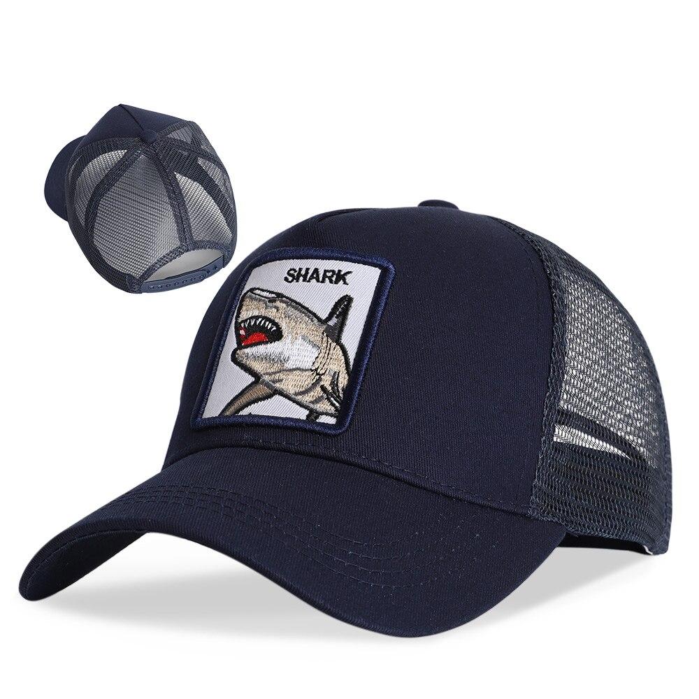 Gorra de béisbol para hombre, gorra de béisbol bordada para primavera y verano, gorra de béisbol informal para mujer, gorra de sol recta de malla con sombra, gorra deportiva a la moda