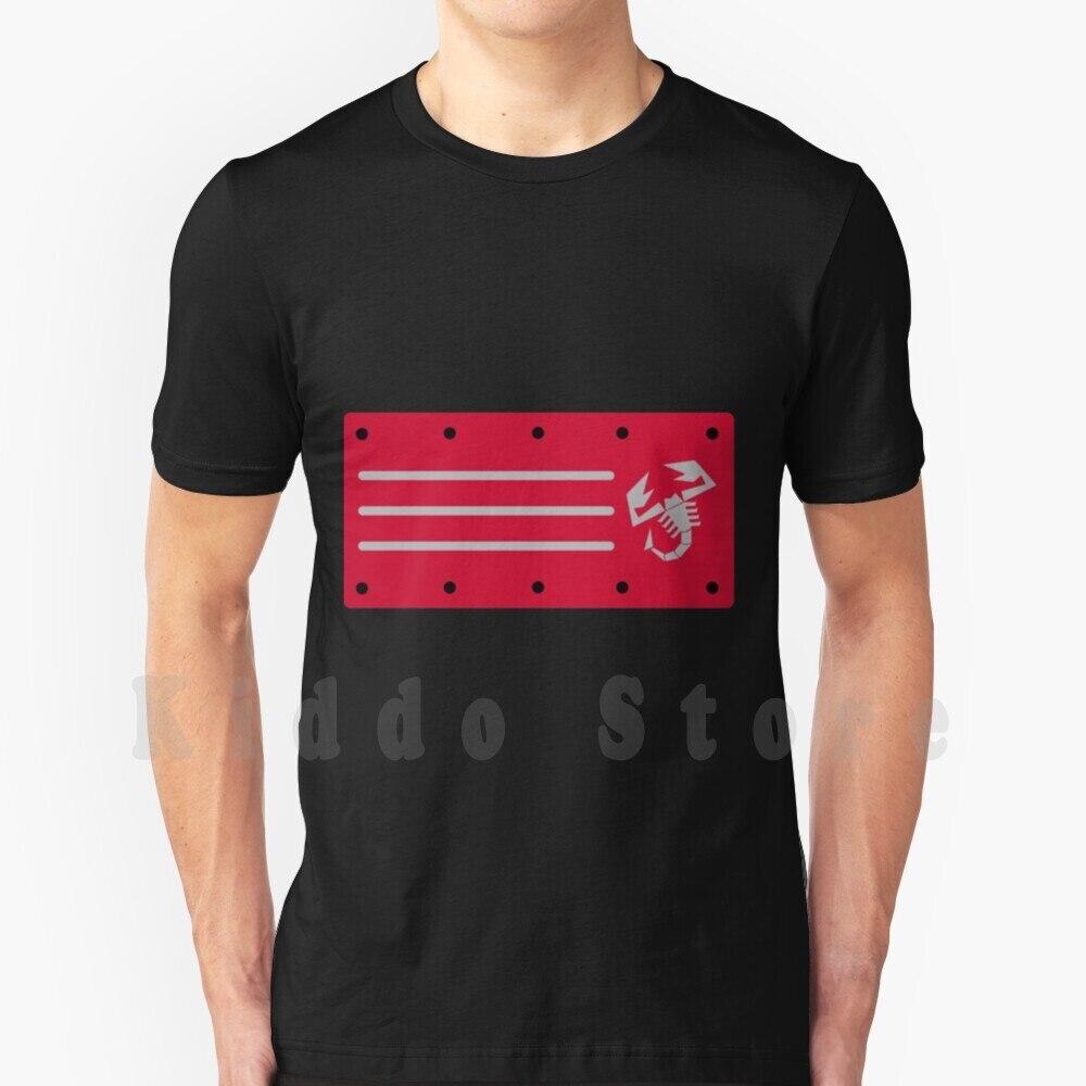 Abarth-Camiseta de algodón para hombre, camisa con motor Abarth, S-6Xl, Fiat 131,...