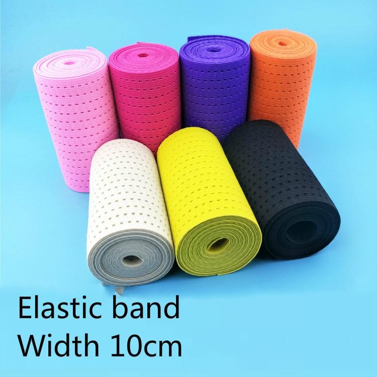 Wide 10cm New style popular Mesh elastic band, Postpartum corset bel,waist belt, DIY accessories, super tension, breathable mesh