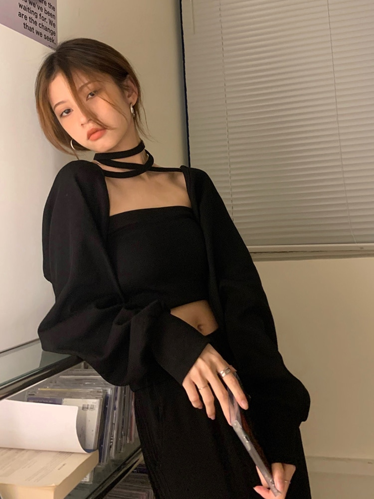 T-shirt Shawl Small Coat 2021 New Women's Spring and Autumn Thin Blouse Early Autumn Long Sleeve Top