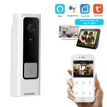 Smart Wifi Türklingel Wireless Intercom 1080P Kamera Nachtsicht Pir Motion Sensor tuya smart leben App arbeit mit Alexa und google