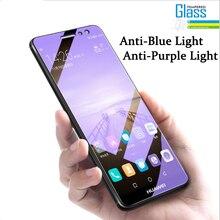 مكافحة الأزرق الزجاج المقسى ل ممن لهم رينو Z A57 F3 لايت A39 A59 F5 F3 A77 A79 A83 A1 A3S A5 AX5 F11 A9 A9X واقي للشاشة