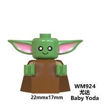 baby Yoda Mandalorian  naves Star  rise of skywalker Wars 9 Kylo Rened starwars Building Blocks Toys
