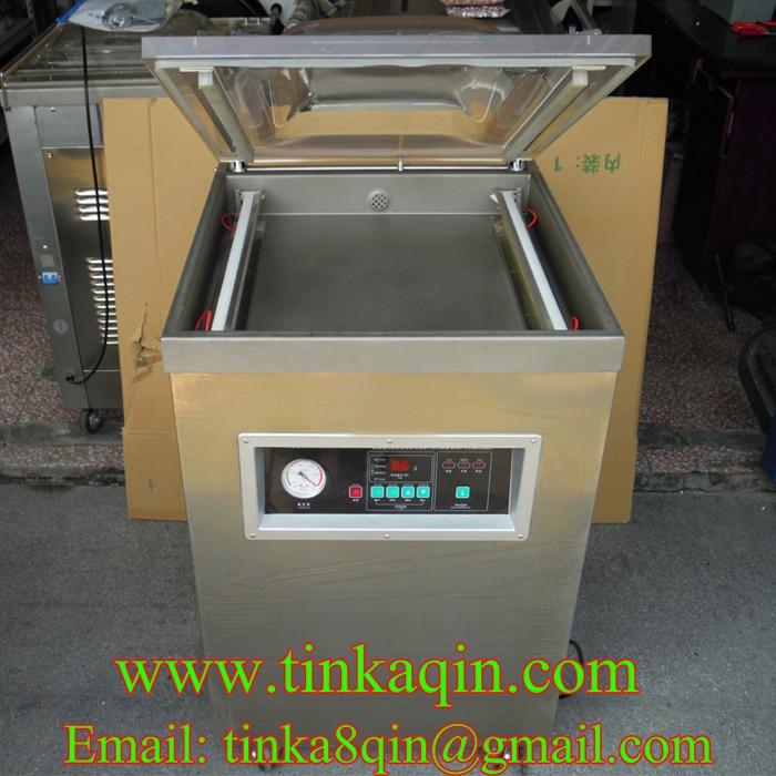 DZ-5002E single-chamber vacuum machine food vacuum machine meat vacuum packaging machine Commercial vacuum machine Tea leaves me