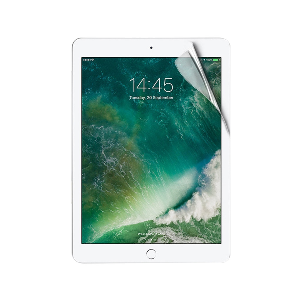 Clear Soft Hydrogel Film Protector de pantalla/a prueba de explosiones LCD TPU película de cubierta completa para iPad 7 generación 10,2 pulgadas 2019