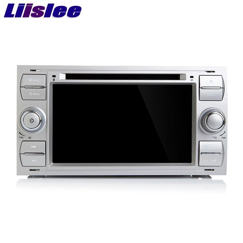 Liislee para Ford Transit/para Focus Car navegador GPS HD pantalla táctil soporte transmisor fm wifi Multi-idiomas