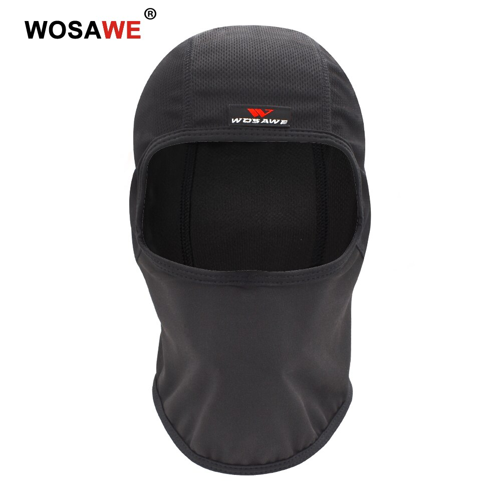 WOSAWE Motorcycle Headgear Breathable Mesh Thin Motocross Riding Helmet Inner Cap Anti-Sweat Racing Under Lining Caps