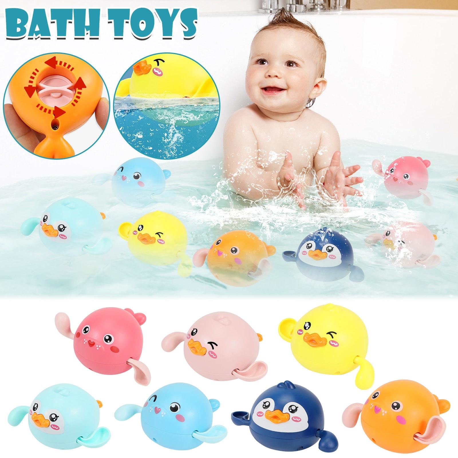 Детские игрушки для девочек и мальчиков, Детские Игрушки для ванны, плавание и падение, детские игрушки, детские подарки, быстрая доставка