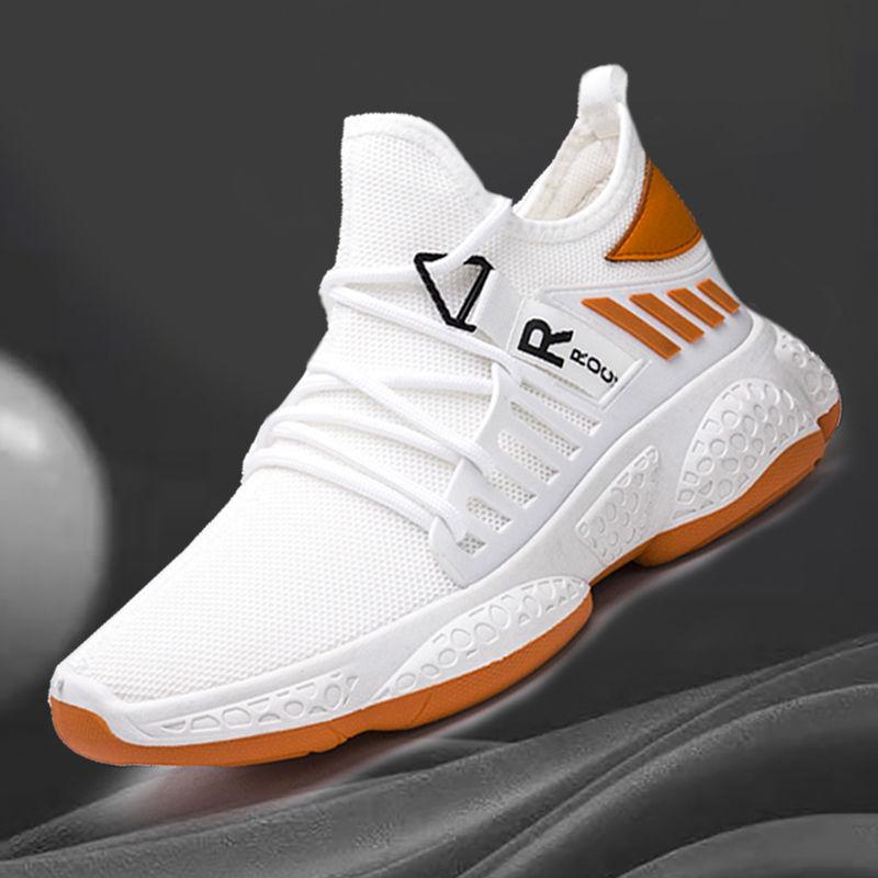 Moda não-deslizamento de caminhada sapatos de corrida verão calçados masculinos sapatos masculinos designer respirável masculino tênis preto branco sapatos casuais