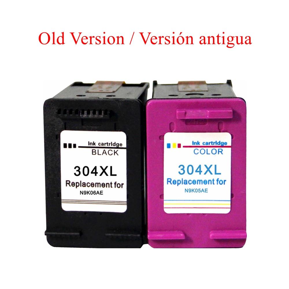 Compatible 304XL Cartuchos de tinta para HP 304 para HP DeskJet 3720 3730 3733 3735 3750 3760 3762 3764 Impresoras