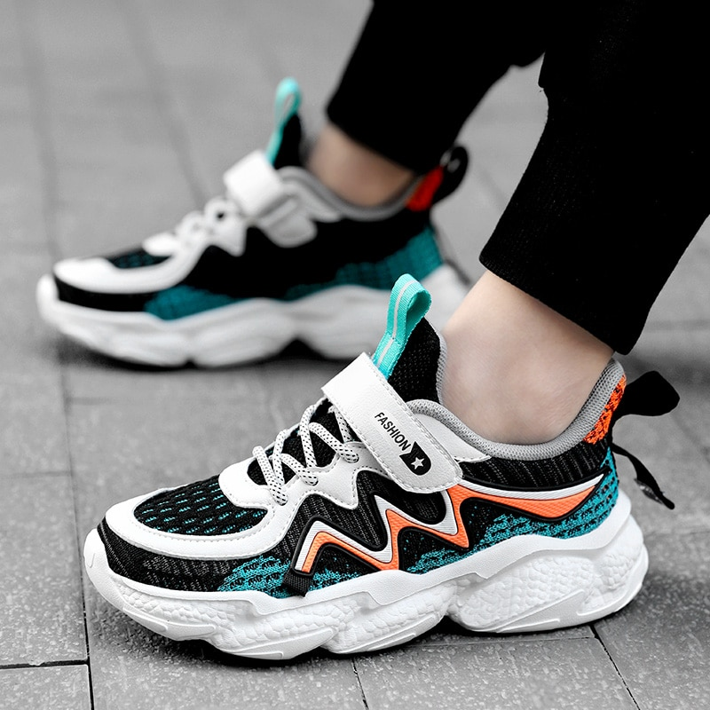 Child Sports Shoes Boys Girls Casual Unisex Flying Mesh  Breathable  Running Shoes Kids Shoes for Girl  Boy Shoes Girls Shoes
