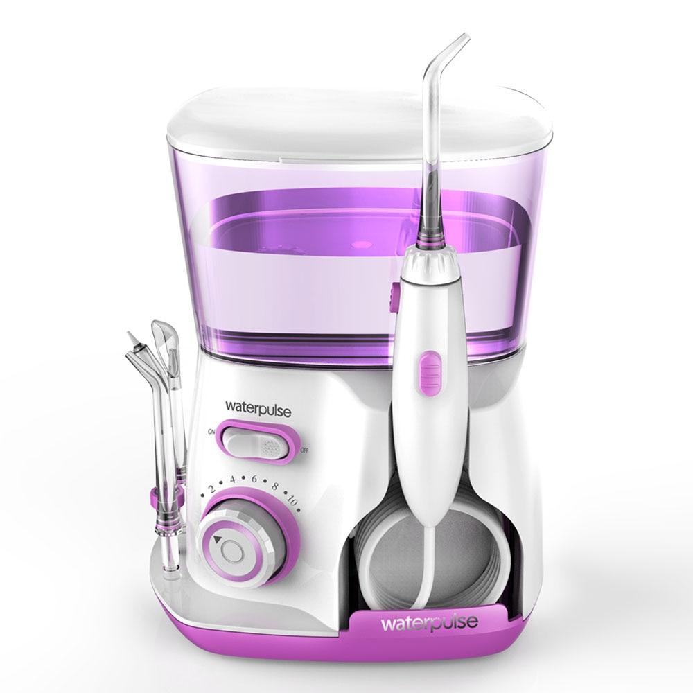 Waterpulse Dental Water Flosser Irrigator Oral Jet Teeth Cleaner Hydro Jet 800ml Water Tank water pick electric toothbrushes enlarge