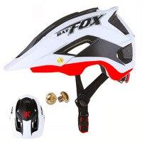BATFOX Bicycle Helmet Ultralight Men Women Cycling Helmet Casco Ciclismo 56-62cm OFF-ROAD Super Mountain Bike Cycling Helmet BMX