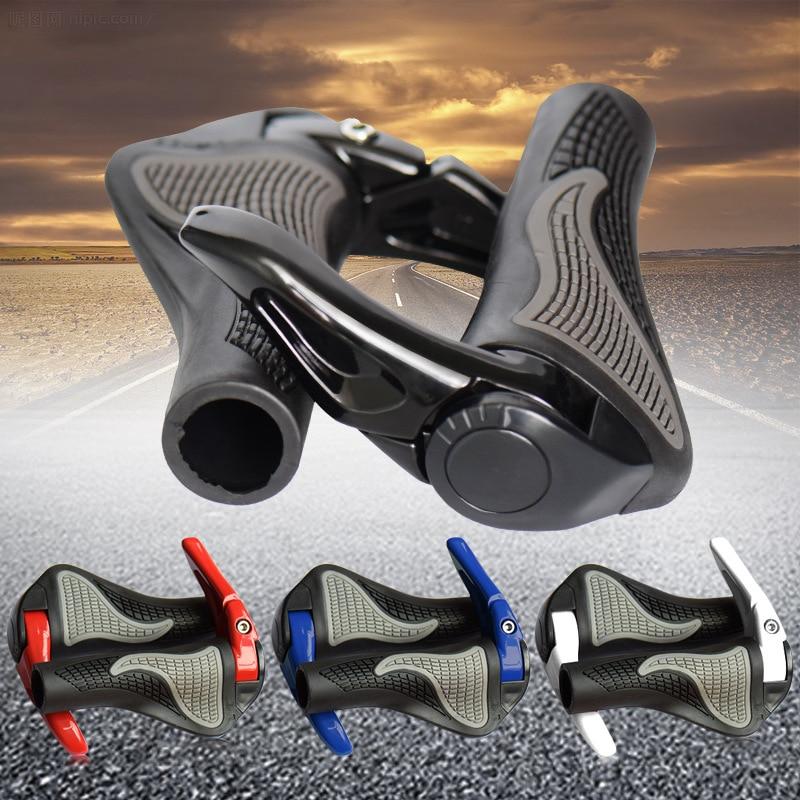4 colors MTB Bike Grips Anti-Skid Ergonomic Bicycle Grips Bike Bar ends Handlebars Bicycle Parts Bicycle Accessories