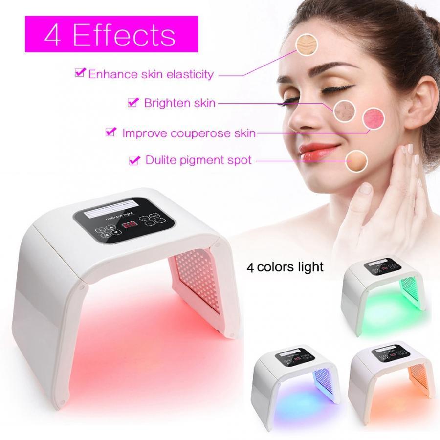 Lámpara LED PDT para terapia de belleza con fotones, fotodinámica para el cuidado Facial, máquina de rejuvenecimiento de acné, dispositivo para la eliminación de arrugas