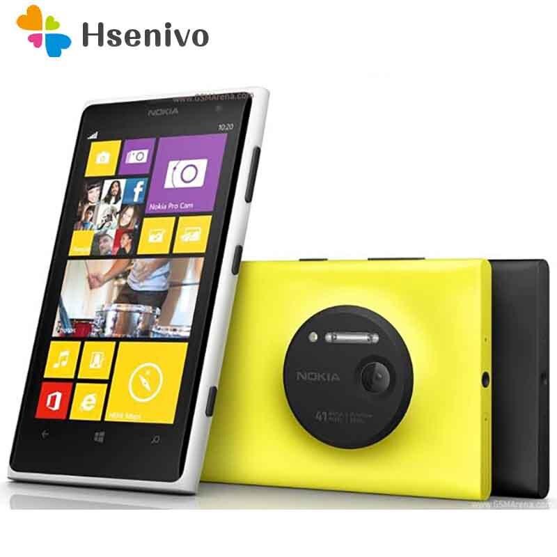 Nokia lumia 1020 reformado-Original Lumia 1020 teléfono móvil 2 RAM 32 ROM...