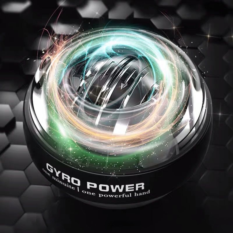 New Self-starting Fidget Spinner Adult Stress Reliever Toys Wrist Power Exercise Antistress Gyroscope Kinetic Toy With LED Light enlarge