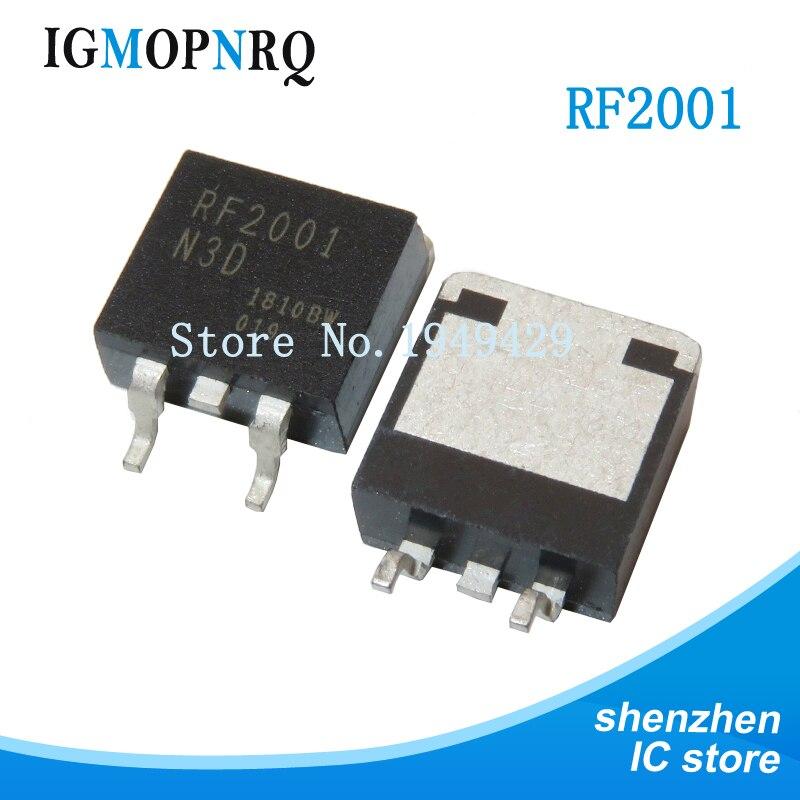 10pcs RF2001N3D PARA-263 RF2001 RF2001NS3SW TO263 RF2001N SOT original novo
