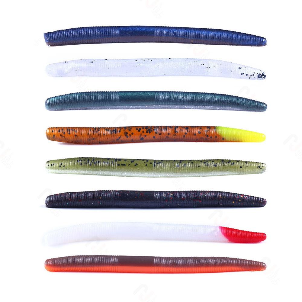 aliexpress.com - 6PCS Soft Lure Stick Senko Worm 5.5g 115mm Fishing Lures Soft Bait Earthworm Soft Fishing Lure Sea Fishing Tackle
