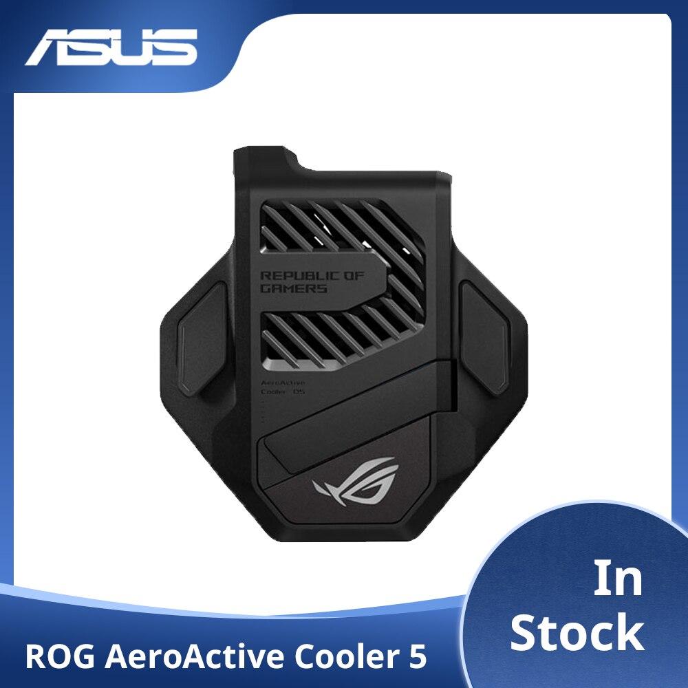 ASUS-مبرد روغ 5 الأصلي ، حامل مروحة تبريد ، محول ألعاب مضاد للحرارة ، متوافق مع ASUS ROG 5