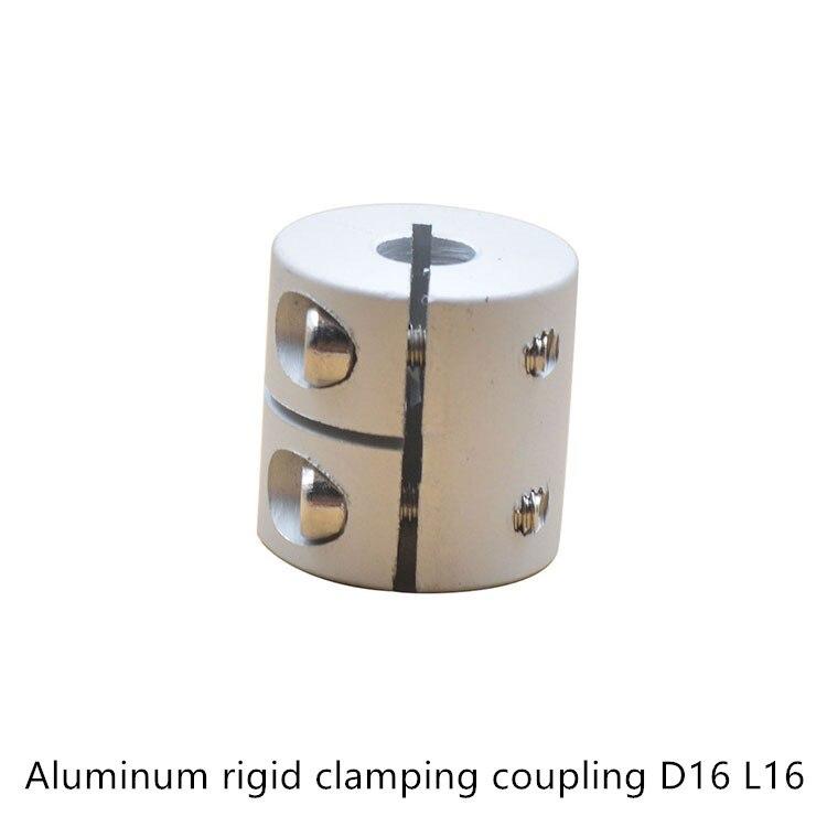 D16L16 2/3/4/5/6/6.35/8mm Aluminum Flexible Shaft Coupler clamping Rigid Coupling Motor Connector D16 L16