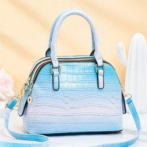 2021 Autumn New Bag Women's European and American Large Bag PU Leather Fashion Women's Bag One Shoulder Messenger Handbag