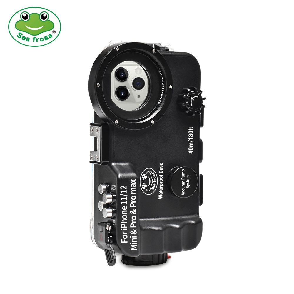 bluetooth-control-waterproof-phone-case-for-iphone-11-12-minipropro-max-underwater-40-130fit-professional-diving-case