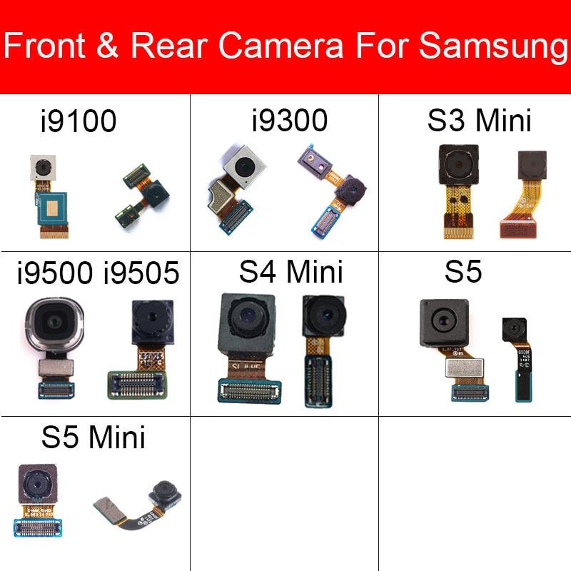 Front & Rear Back Camera For Samsung Galaxy S2 S3 S4 S5 Mini I9500 I9505 I9300 I9100 I747 Small Facing Main Big Camera Parts