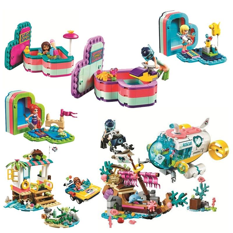2020 nova Meninas Amigos Tartarugas Missão de Resgate Kit de Blocos de Construção Tijolos Clássico Filme Menina Modelo Kids Brinquedos Para Crianças Presente