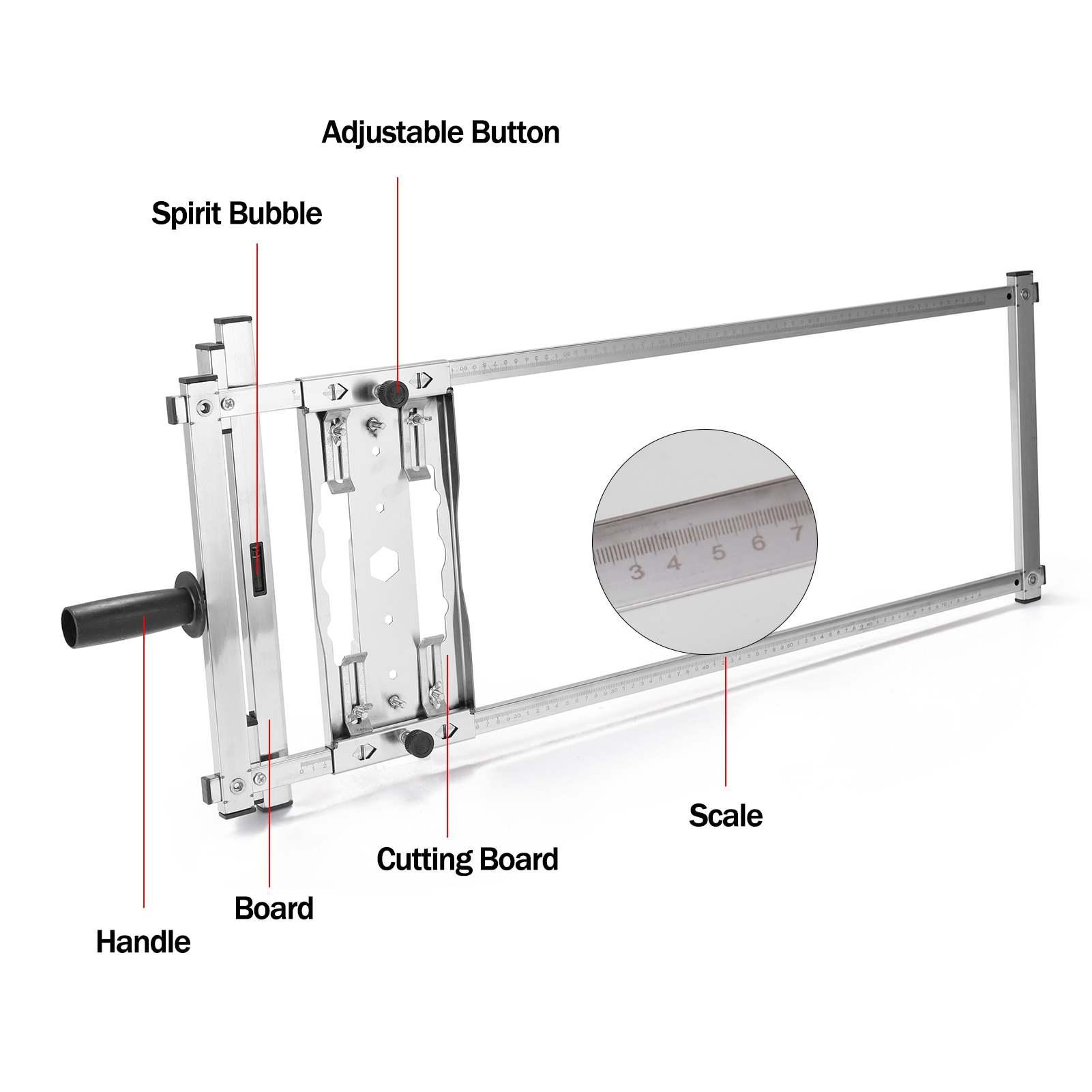 Machine Guide Positioning Cutting Board Tools Multifunction Electricity Circular Saw Trimmer Woodworking Router Cutting Tools enlarge