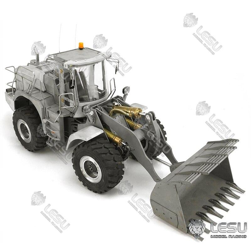 Metalen Assen Cabine Body Lesu 1/15 Rc Hydraulische Loader Liebherr L574 Pomp Esc Motor Ongemonteerd