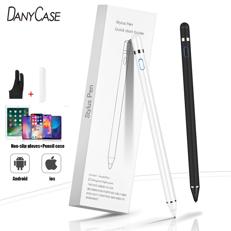 Active Stylus Pen Capacitive Touch Screen Pencil For Samsung Xiaomi HUAWEI iPad Tablet Phones iOS An