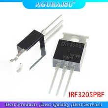 10 pièces IRF3205 IRF3205PBF MOSFET MOSFT 55V 98A 8mOhm 97.3nC à-220