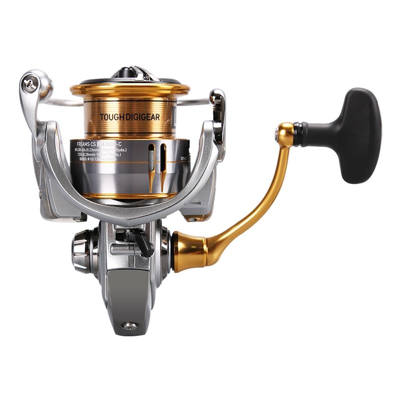 New DAIWA FREAMS CS LT Spinning Fishing Reel 1000-4000 Series High Low Gear Ratio Aluminium Air Handle Tackle Saltwater Coils enlarge