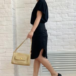2020 New Autumn Ladies Bag Simple Fashion Baguette Handbag Retro Trend One Shoulder Diagonal Pillow Bag ladies bag set