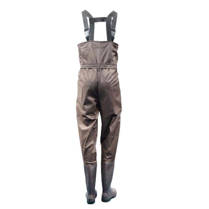 Eu 38-47 Men Women Fishing Trousers Boots Waterproof Anti-wear Jumpsuit Quick Drying Wader Hunting Working Wading Pants Shoes enlarge