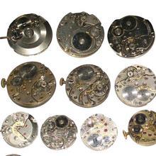 Random  Scrapped Watch Machinery Movement Steam Punk DIY Material Accessories Processing Parts Clock