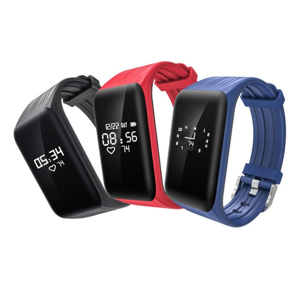 Pulsera inteligente con Monitor de frecuencia cardíaca Bluetooth impermeable para Dropshipping K1 Fitness Tracker