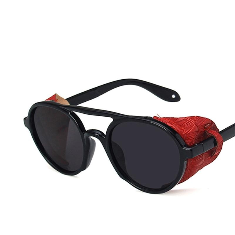 Солнцезащитные очки в стиле панк для мужчин и женщин, роскошные брендовые винтажные солнечные очки в стиле ретро