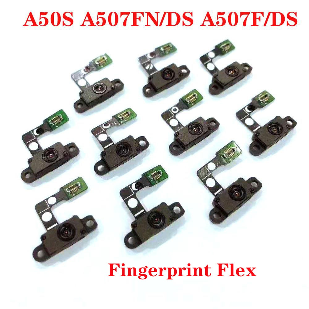 Para Samsung Galaxy A50 A80 A50S A51 A505 A805 A507 A515 Original nuevo botón de inicio Sensor de huella digital accesorios Cable flexible
