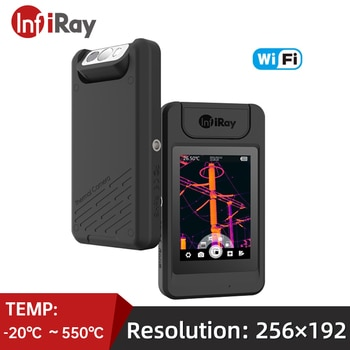 InfiRay Infrared Thermal Imager P200 Wifi Rotatable Lens Industrial Floor Heating PCB Electronic Detector Thermal Imaging Camera