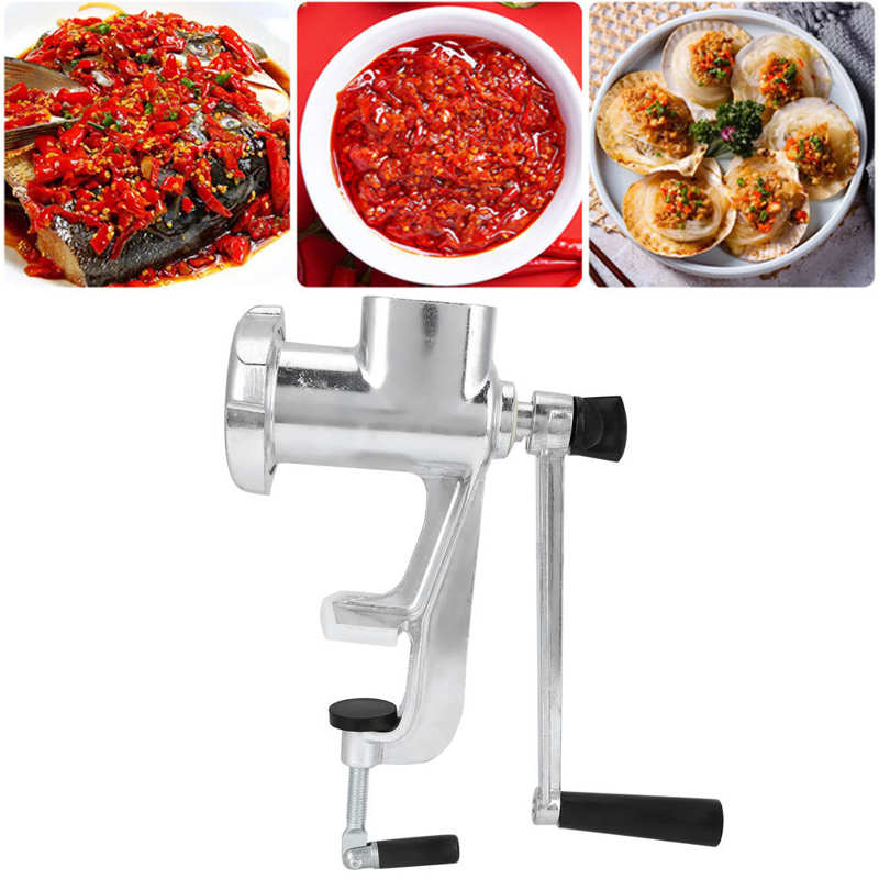 Hand Operated Meat Grinder Household Multifunctional Meat Mincing Machine Kitchen Grinding Tools Food Processor