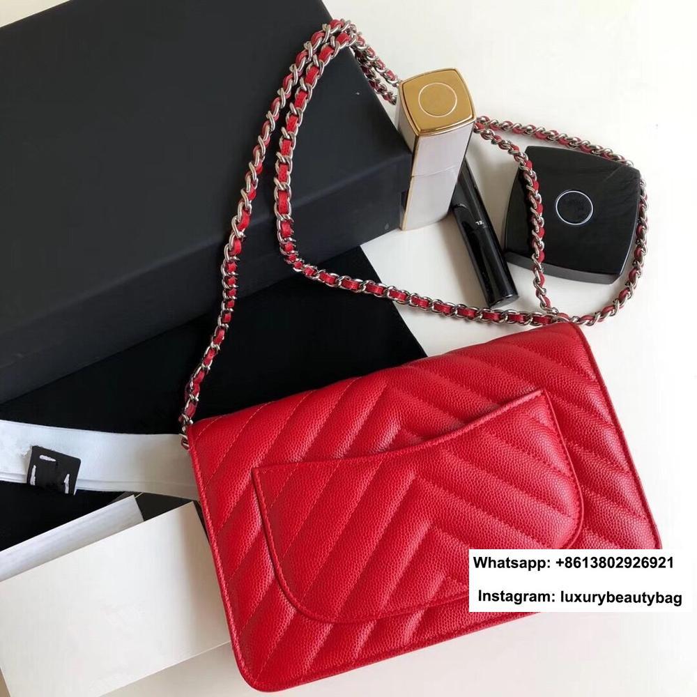 الفاخرة الشهيرة مصمم امرأة المحفظة على سلسلة حقيبة رسول حقيبة crossbody حقيبة الكتف حقائب الخامس إلكتروني جلد العجل